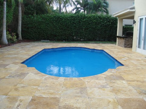 Marble Pool Decks Impressive Portfolio  Florida Pools & Spas D.sinc.